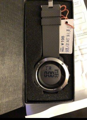 SKMEI Digital Watch black-silver-colored