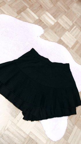 Skort shorts kurze hose rock schwarz basic zara black vintage