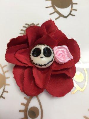 Skull Totenkopf Haarklammer Rockabilly-Look