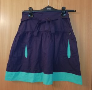 Skunkfunk Mini-jupe violet-vert menthe