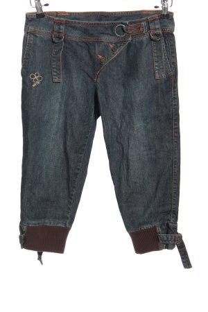 Skunkfunk 3/4 Jeans blau Casual-Look