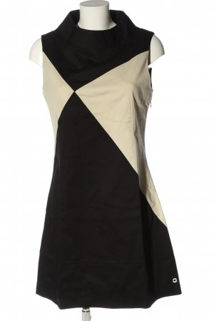 Skunkfunk Robe fourreau blanc cassé-noir style décontracté