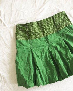 Skunkfunk Mini-jupe multicolore coton