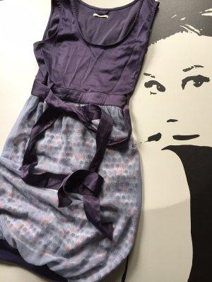 Skunkfunk Summer Dress brown violet-light grey