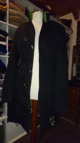 Skunkfunk Manteau mi-saison noir-vert