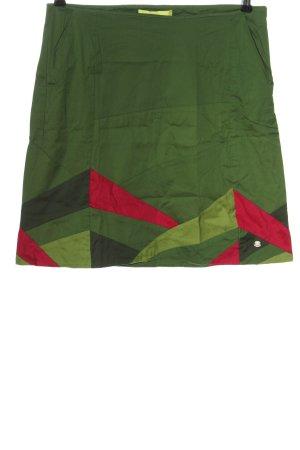Skunkfunk Mini-jupe motif abstrait style décontracté