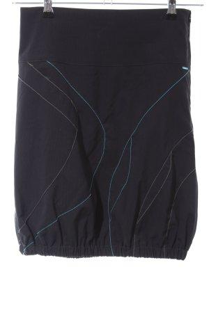 Skunkfunk Mini-jupe noir style décontracté