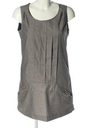 Skunkfunk Robe à bretelles gris clair moucheté style d'affaires