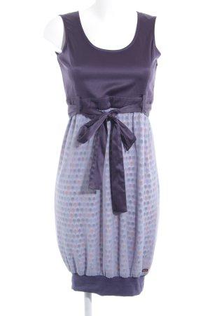Skunkfunk Robe à bretelles violet foncé-bleu azur élégant