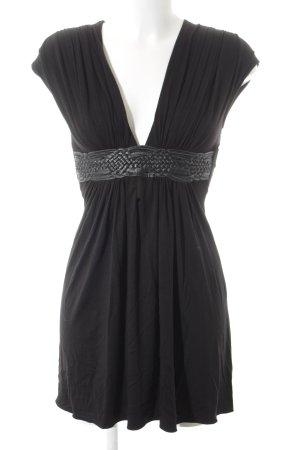SKY Abendkleid schwarz Casual-Look