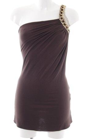 SKY One-Shoulder-Kleid braun Elegant