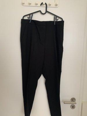 Asos Spodnie materiałowe czarny