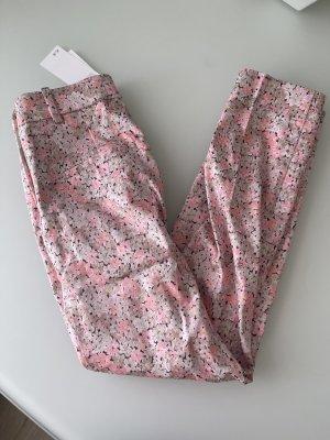 H&M Pantalone a pieghe multicolore
