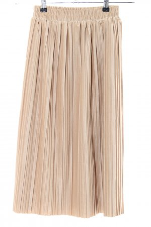 Pleated Skirt natural white casual look