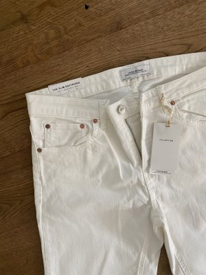 Zara Boyfriend Jeans white