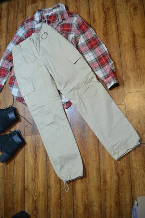 Slim Fit Cargo Joggers beige Nakd 38