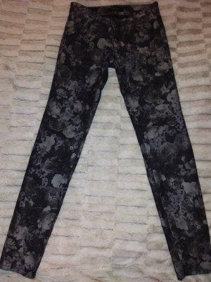Amisu Drainpipe Trousers multicolored