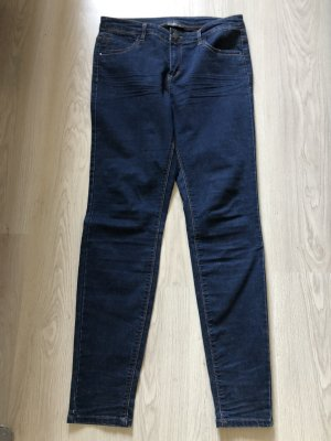 C&A Peg Top Trousers dark blue
