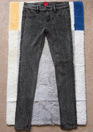 Slim Fit Jeans mit Nieten von Only(Gr.36 L 32)