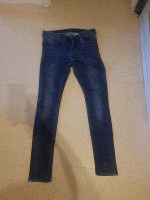 H&M Slim jeans blauw