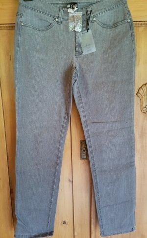 b.c. best connections Jeans slim gris coton