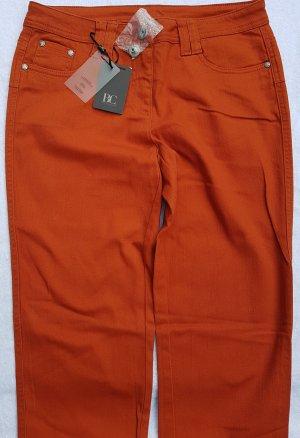 Best Connections Jeans slim fit arancione scuro Cotone