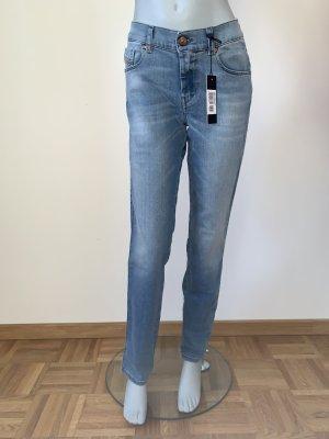Slim Fit Jeans von Diesel Gr. W26 L32 blau
