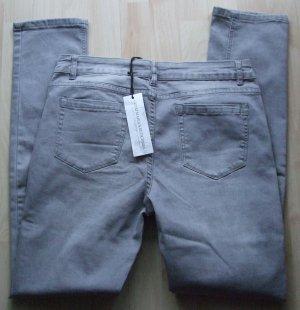 Slim Fit Jeans von Guido Maria Kretschmer - grau - Gr. W31