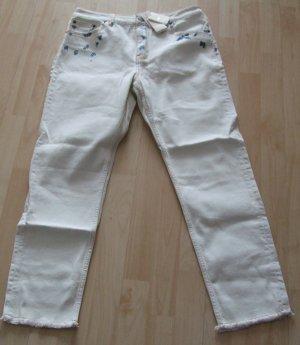 Maje Jeans slim blanc