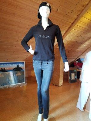 Slim jeans grijs