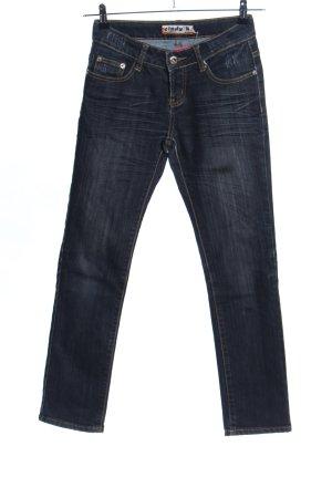 Slim Jeans schwarz Casual-Look