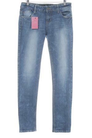 Slim Jeans graublau Casual-Look