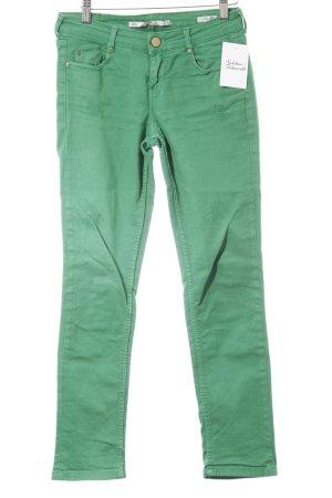 Slim Jeans grün Casual-Look