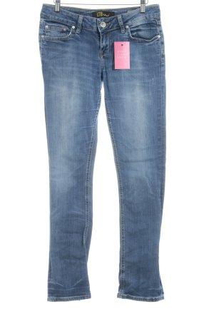 Slim Jeans kornblumenblau Casual-Look