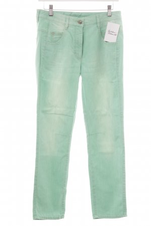 Slim Jeans mint Casual-Look