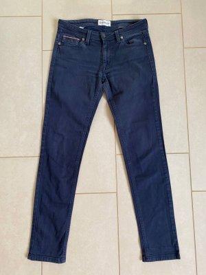 Moncler Dopasowane jeansy szary niebieski-niebieski