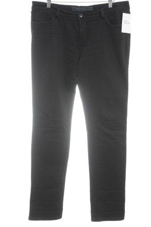 Slim Jeans schwarz schlichter Stil