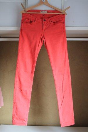 Slim-Jeans von ROXY in dunkel-lachsfarben