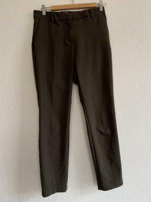 H&M Pantalon à pinces gris vert