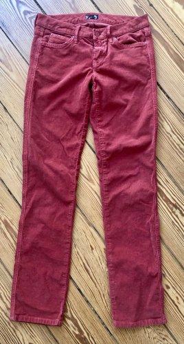 Slimfit Jeans in Feincord von Mother