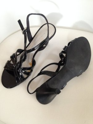 Marco Tozzi Strapped Sandals black synthetic material