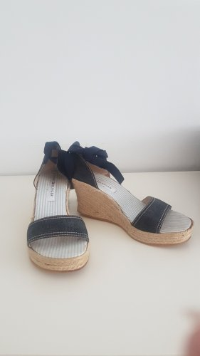 Slingback Keilabsatz Sandaletten von Tommy Hilfiger