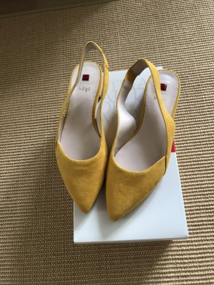Högl Strapped High-Heeled Sandals yellow