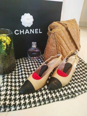 Chanel Décolleté modello chanel multicolore Pelle