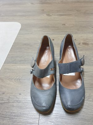Rieker Backless Pumps grey
