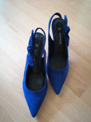 Promod Slingback Pumps blue
