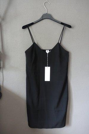Slip dress, Slip Kleid, Arket, neu, Seide, Minikleid, Seidenkleid, schwarz, Slipdress