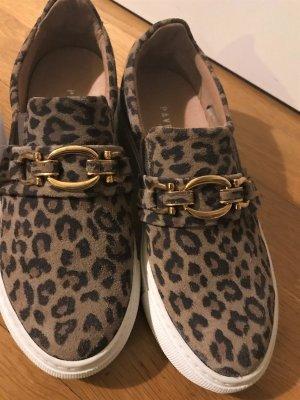 Slip-on-Sneaker von Pavement aus hellbraunem Velours-Leder Gr. 36 NEU