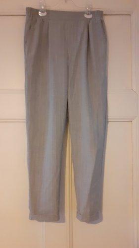 Bershka Pantalone jersey grigio chiaro-grigio