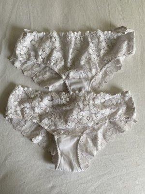 american eagle Ensemble de lingerie blanc